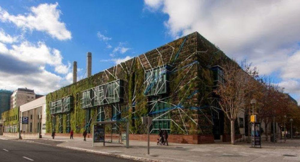 Rehabilitación energética: Jardín Vertical con especies autóctonas en Palacio de Congresos de Vitoria-Gasteiz