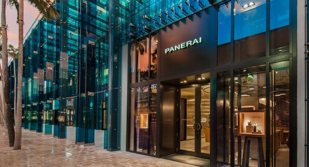 Nueva boutique Panerai Miami con diseño español
