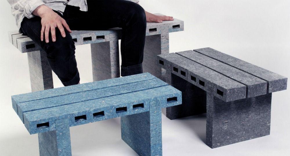 Ecología, diseño y reciclaje. Proyecto PaperBricks de WooJai Lee