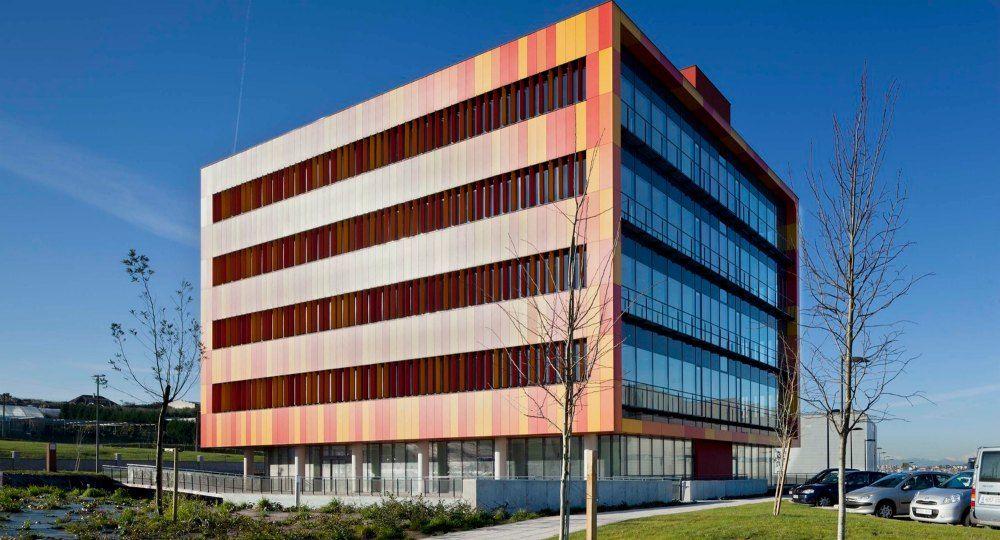 Parque cient fico y tecnol gico de cantabria edificios de for Arquitectura de oficinas