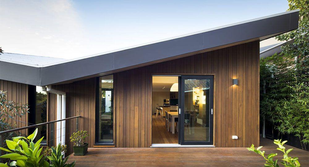 Passive Butterfly, una vivienda passivhaus orientada a sur de EME Design.