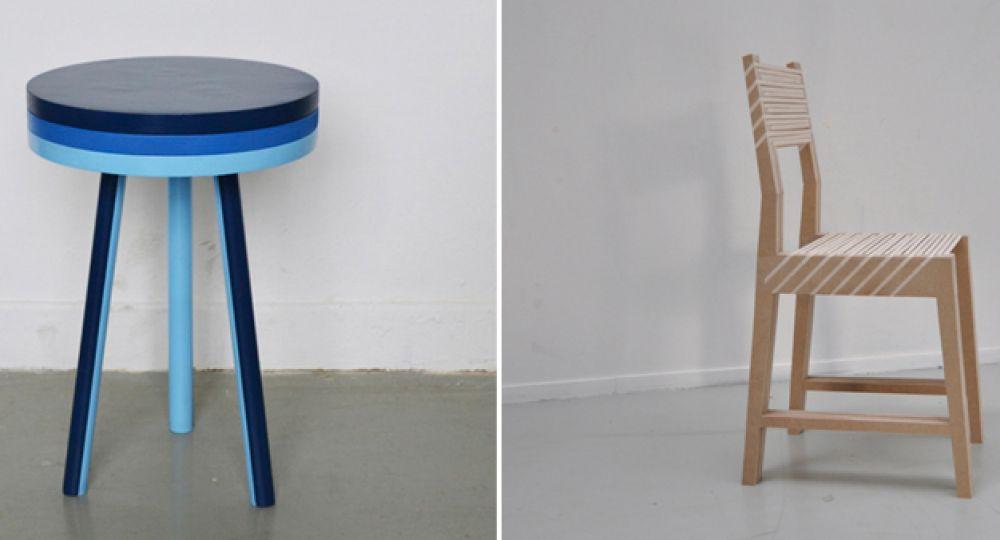 Una silla, dos sillas, tres sillas. Paul Menand