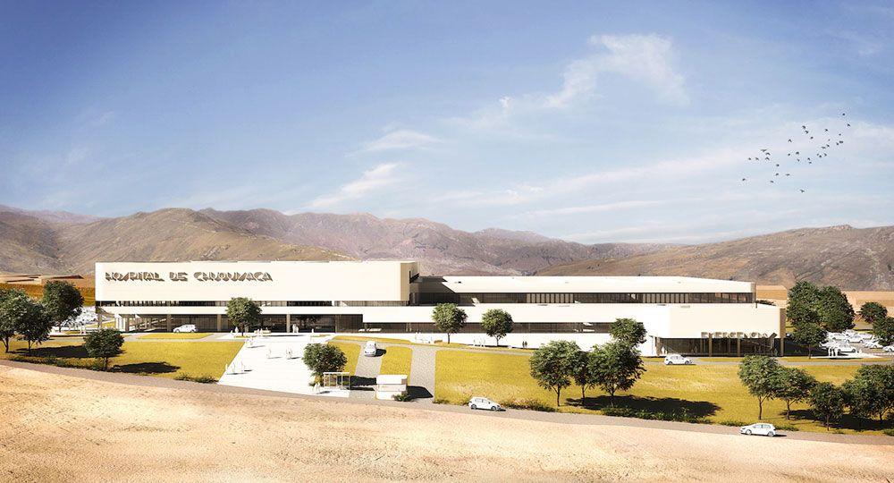 Hospital de Chuquiyaca de PMMT Arquitectura