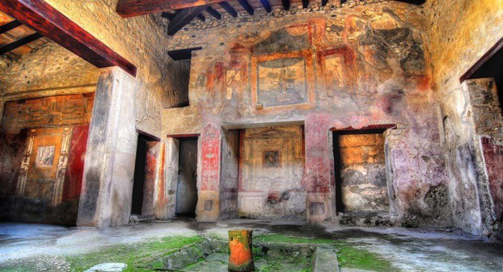 Esta Navidad reabren seis domus restauradas en Pompeya