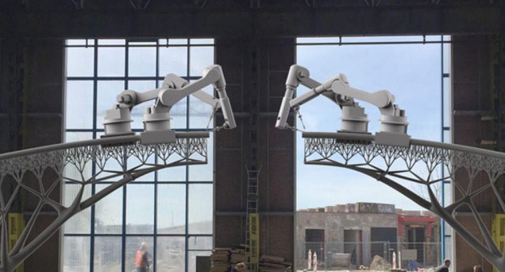 El nuevo puente de Ámsterdam, arquitectura futurista de Joris Laarman