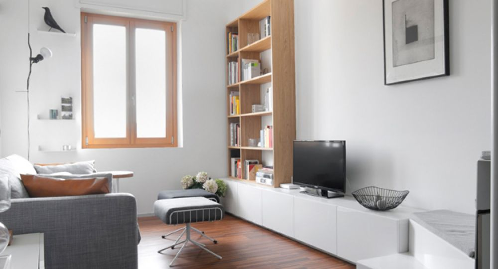Apartamento compacto Milanés, +R Architetti