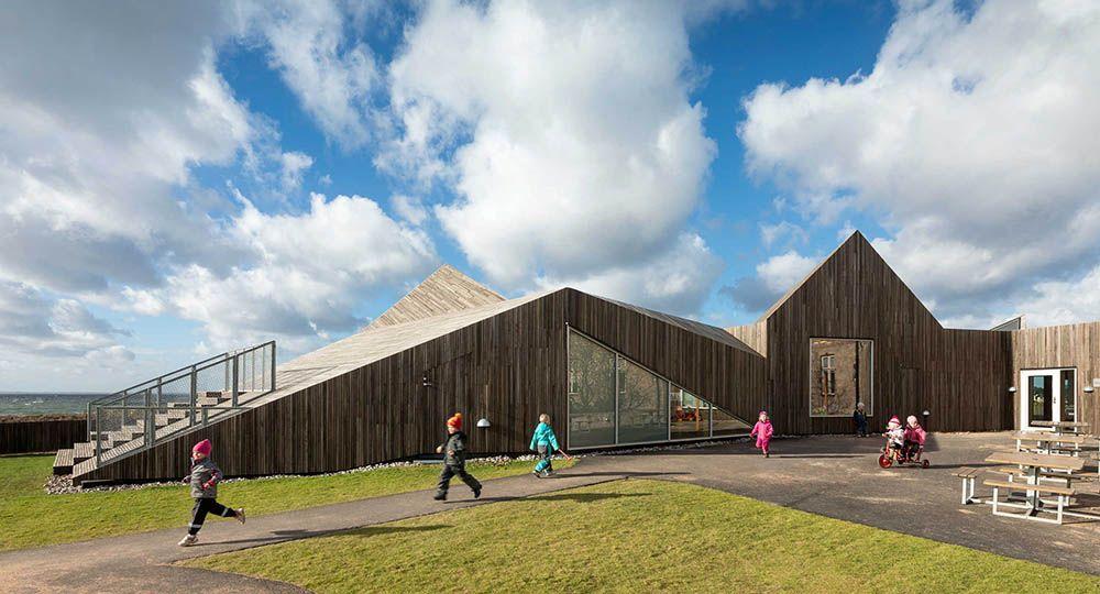 La arquitectura de dorte mandrup espacios educativos for Edificios educativos arquitectura