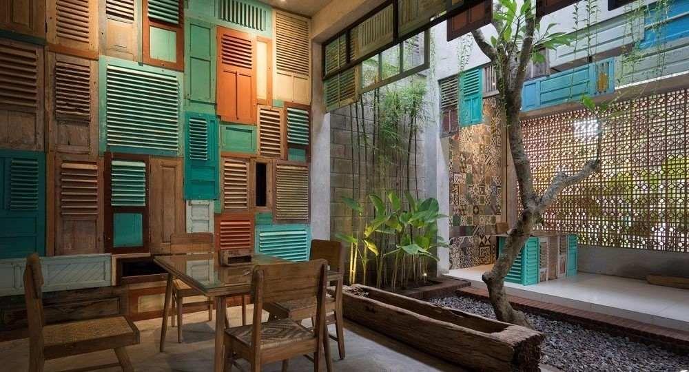Textura y mestizaje en la obra de Andy Rahman Architect