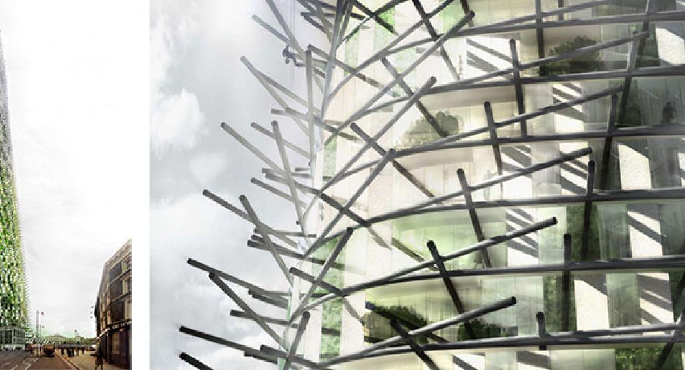 Rascacielos orgánicos para Londres, arquitectura que nace y crece
