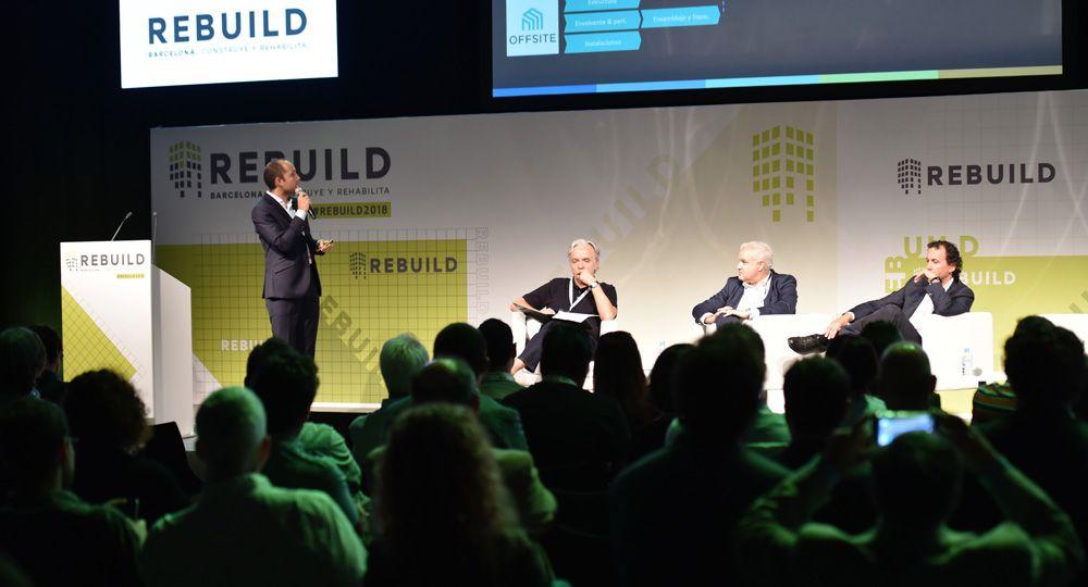 REBUILD: la cumbre anual de innovación para la edificación