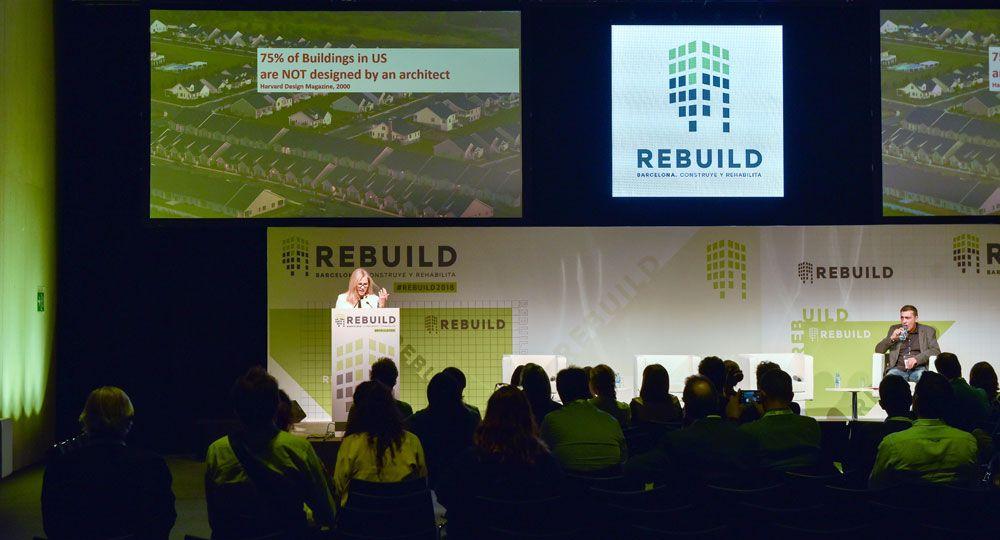 Madrid, capital de la arquitectura avanzada con REBUILD 2019