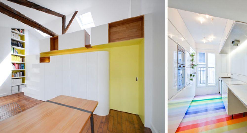 Arquitectura para la vida moderna, elegante y con color
