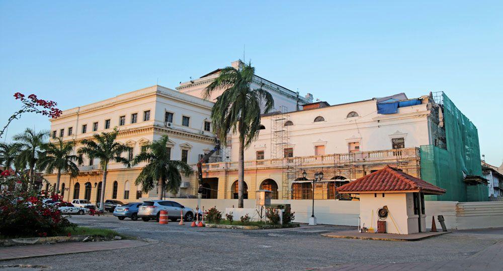 La rehabilitación integral de antiguo Teatro Nacional de Panamá