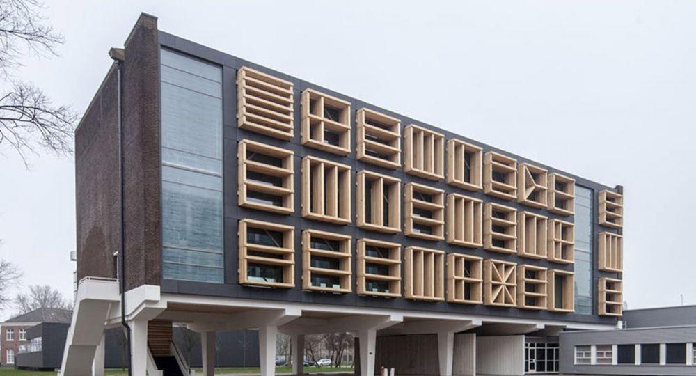 Rehabilitación  arquitectónica del edificio E27 en  Antigua  Base Naval,  Ámsterdam.