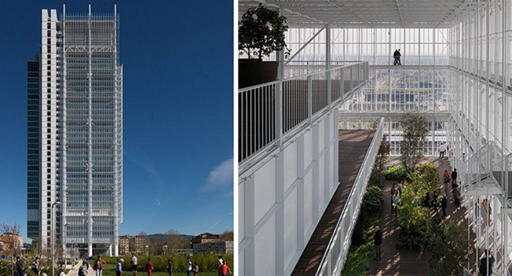Renzo Piano y su invernadero bioclimático de 166 metros de altura