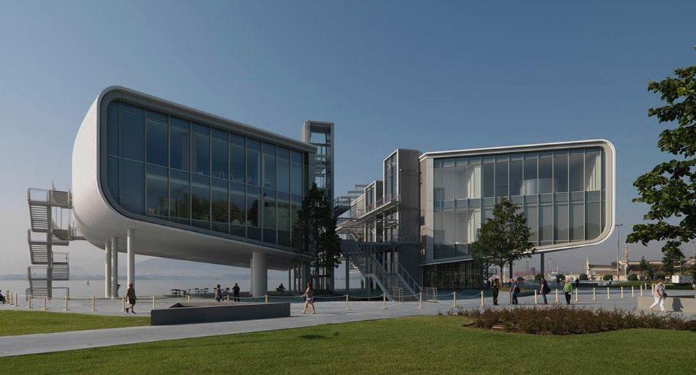 Renzo Piano en colaboración con Luis Vidal + arquitectos: Centro Botín, Santander.