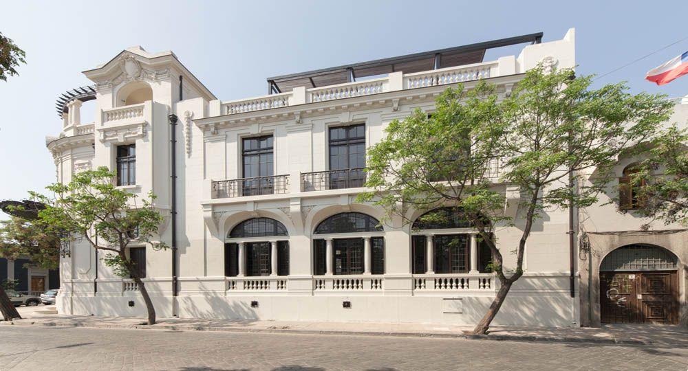 """""""El palacio Álamos"""". Restauración  Arquitectónica en Chile"""
