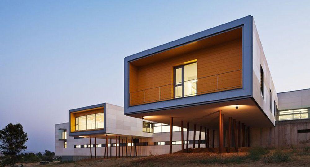 Centro de discapacitados psÍquicos de Alcolea del estudio de arquitectura Rico & co