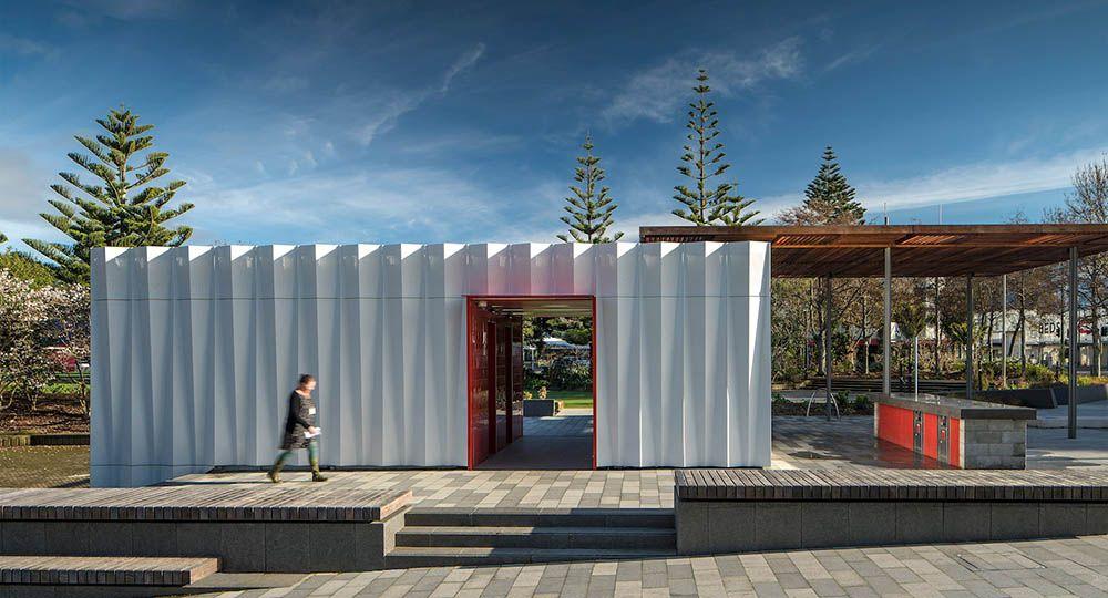 Arquitectura y jardín: el pabellón Riddiford, Hutt, Nueva Zelanda. Herriot Melhuish O'Neill Architects