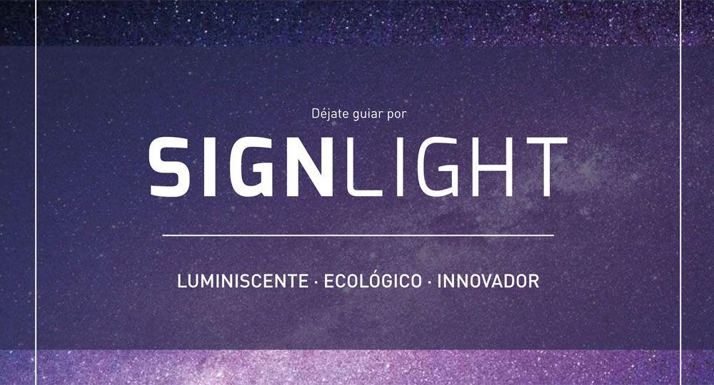 SignLight: cerámica urbana luminiscente