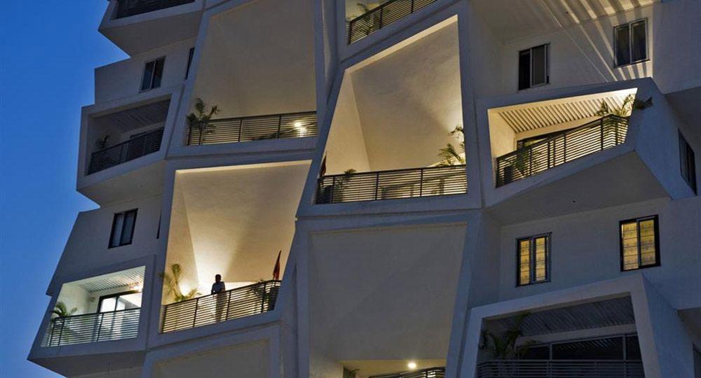 Ishatvam 9, Ranchi, India. Sanjay Puri Architects. Arquitectura residencial de referencia del 2017.