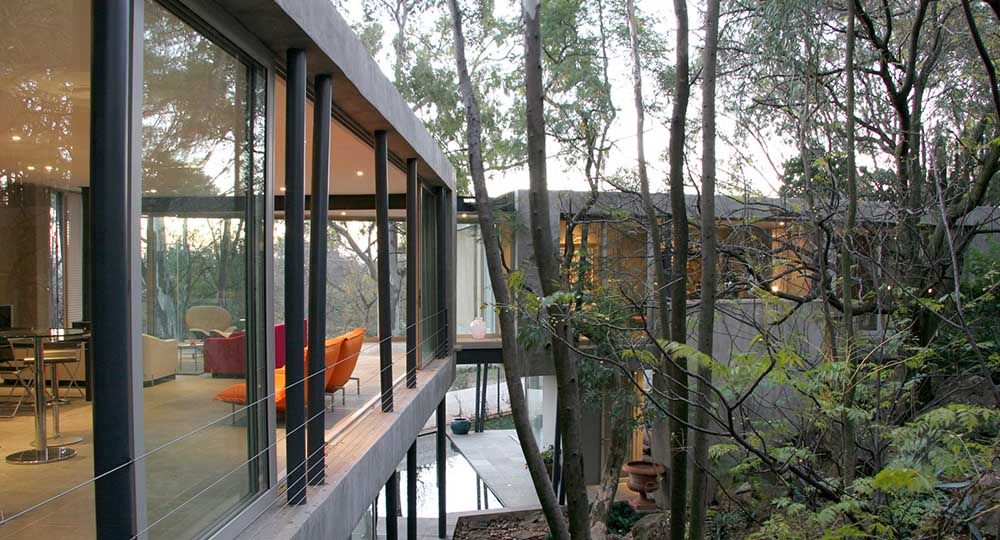 Arquitectura con sello sudafricano: Sarah Calburn Architects.