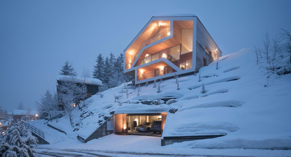 SeARCH arquitectura: Chalet Anzère