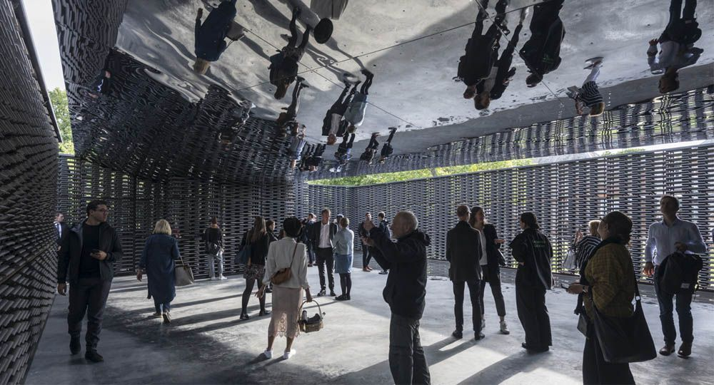 El Serpentine Pavillion de 2018: un proyecto de Frida Escobedo