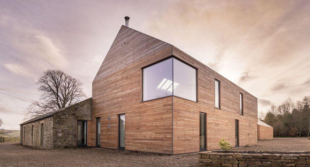 La casa Shawm de Mawsonkerr Architects: arquitectura sostenible y autoconstrucción