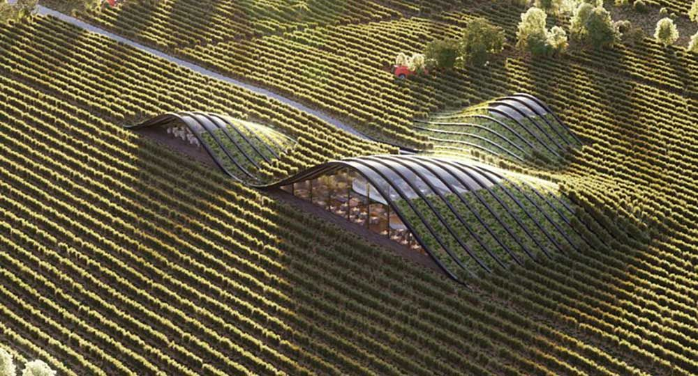Arquitectura ecológica: complejo vinícola Shilda en Kakheti, Georgia. X-architecture.
