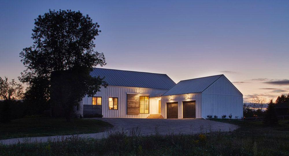 Silo House, arquitectura contemporánea respetuosa con la tradición rural.