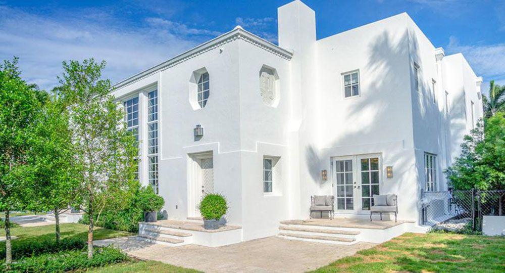 Skinner House, una finca de art déco de 1934 Rehabilitación en  Miami