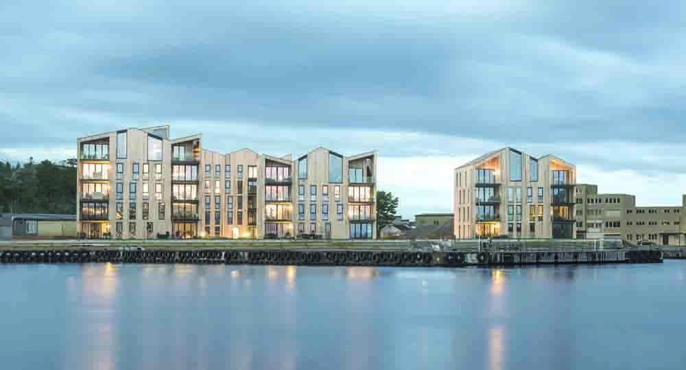 Mandal Slipway, la arquitectura residencial de Reiulf Ramstad Arkitekter.