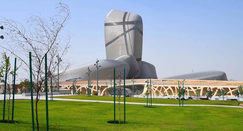 Centro para  la Cultura Mundial Rey Abdulaziz. Snøhetta arquitectos.