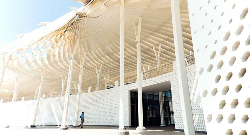 La arquitectura de Snøhetta para el nuevo Mercado de Pescado de Muttrah.