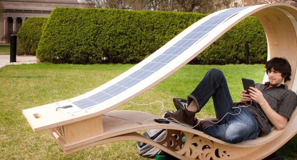 Soft Rockers: Recarga tu batería en este balancín solar