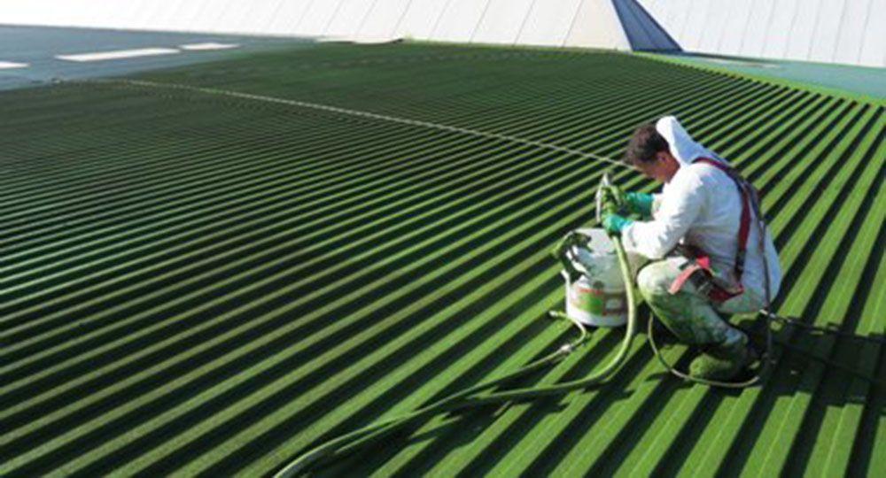Corcho proyectado, un nuevo acabado aislante, impermeabilizante y ecológico para la arquitectura.