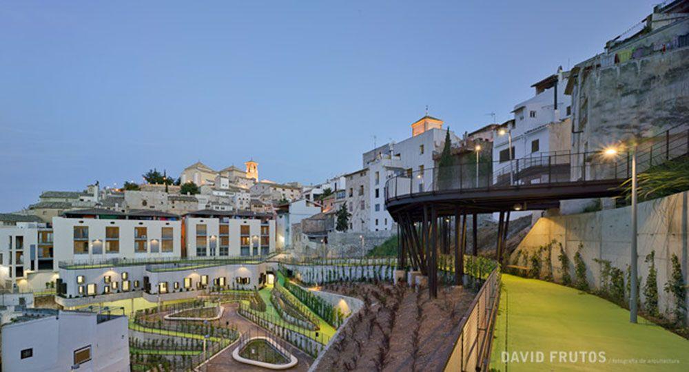 'La misteriosa historia del jardín que produce agua', premio regional de arquitectura de la región de Murcia.