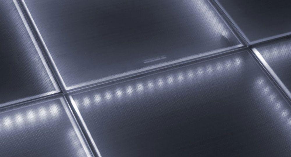 Suelo fotovoltaico transitable y antideslizante. Soluciones de Onyx Solar para una arquitectura sostenible.