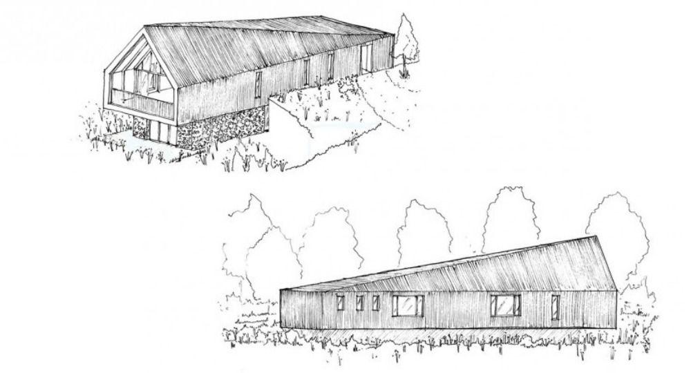 Ambición sostenible. Vivienda unifamiliar Black Barn