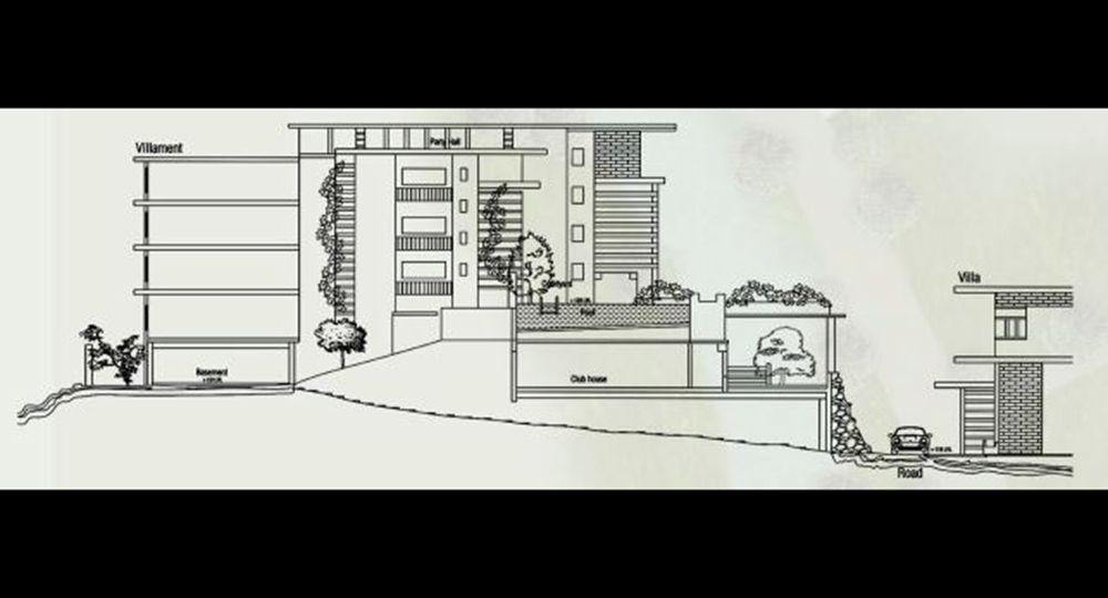 Apartamentos GoodEarth  Riversong en India, Space A.R.T. Arquitectura sostenible que se funde con su entorno.