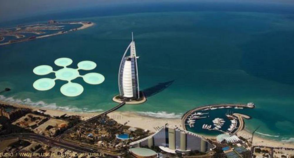 Una cancha de tenis Submarina para Dubai