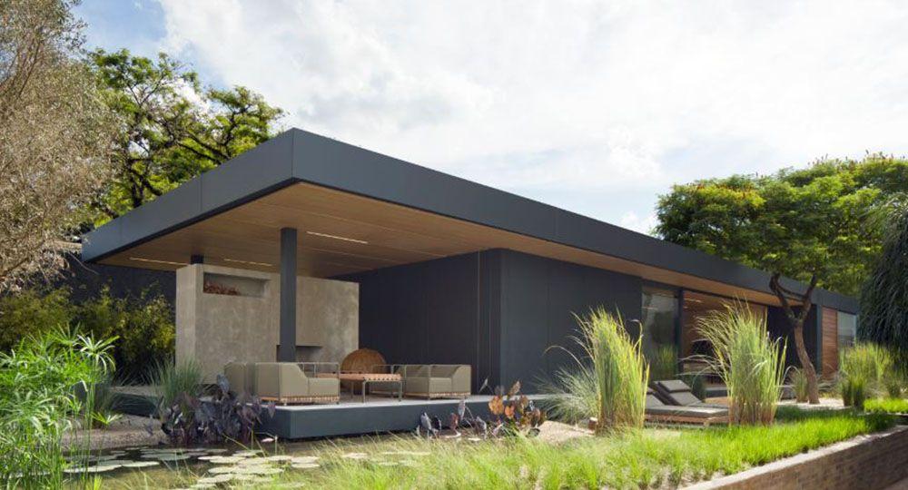 "Viviendas prefabricadas ""ecosistémicas"". The SysHaus House, Studio Arthur Casas."