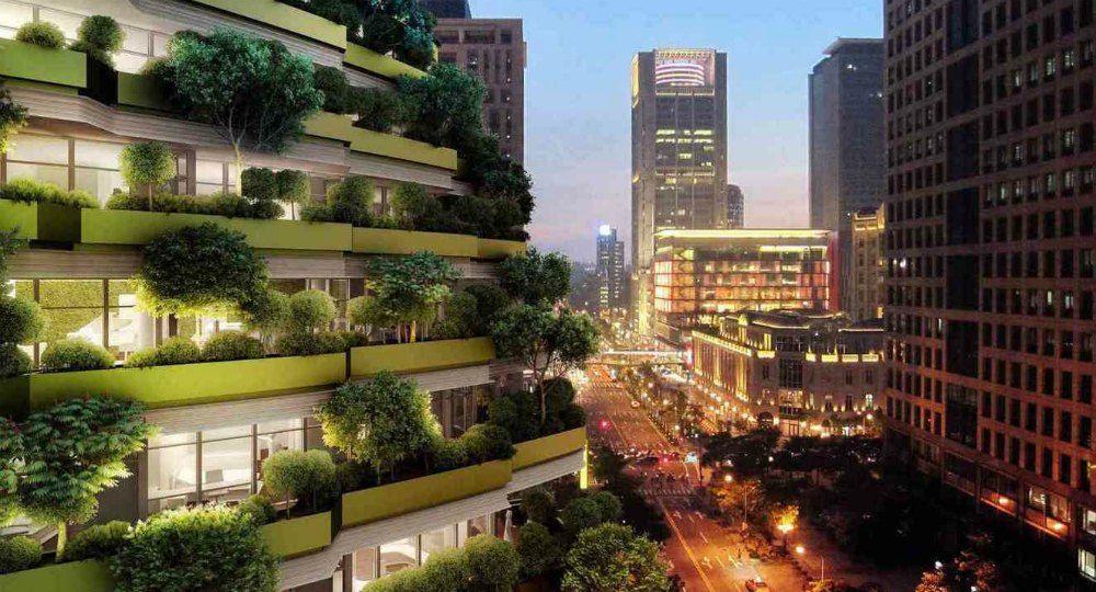Torre sostenible Tao Zhu Yin Yuan. Vincent Callebaut Architectures