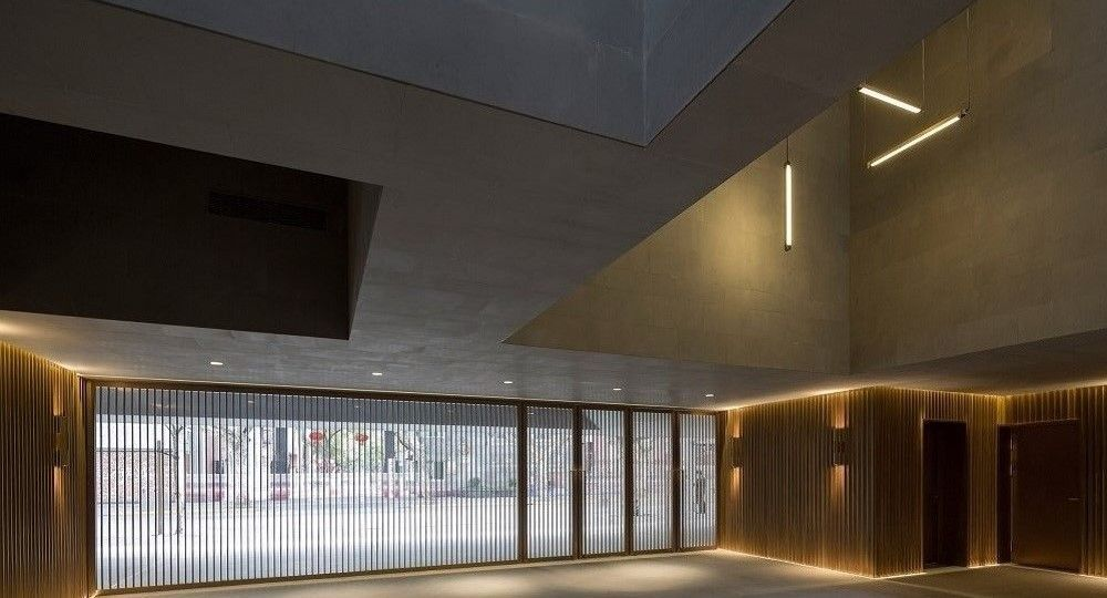 New Shanghai Theatre, arquitectura revitalizada de Neri&Hu