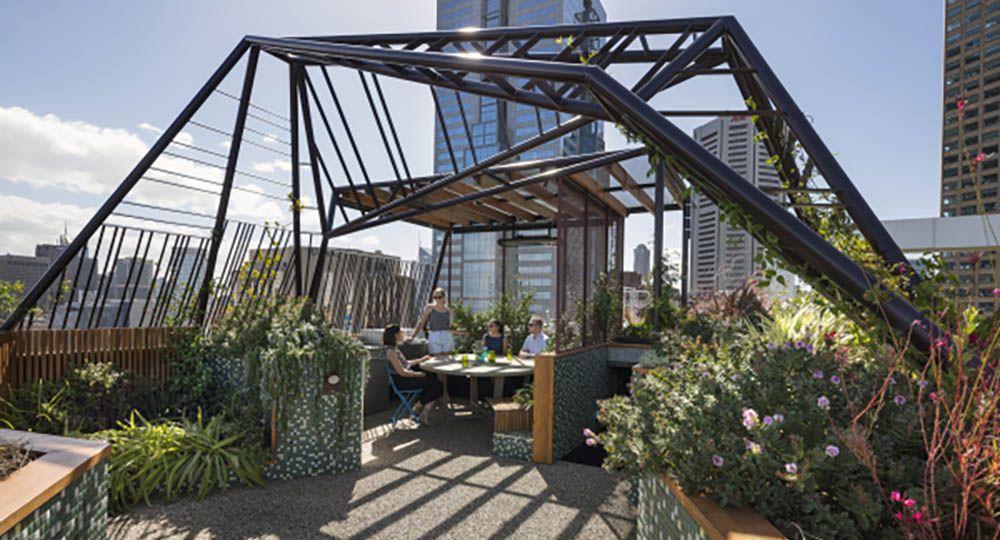 Phoenix Rooftop, arquitectura verde y espacios de vida al aire libre en altura.