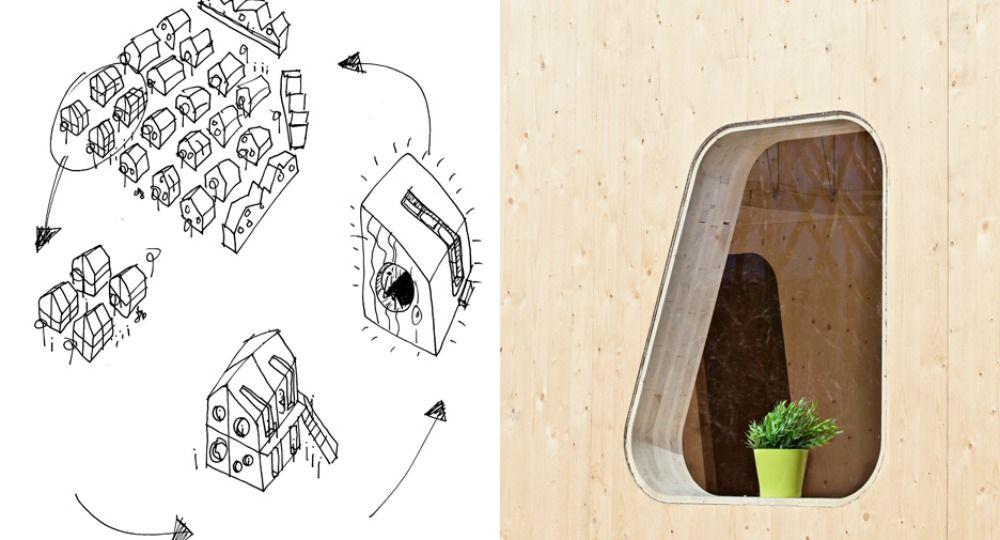 Vivienda sostenible y económica para estudiantes. Tengbom Architects