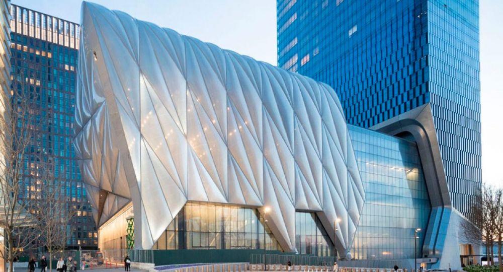 The Shed, la arquitectura de Diller Scofidio + Renfro en Nueva York