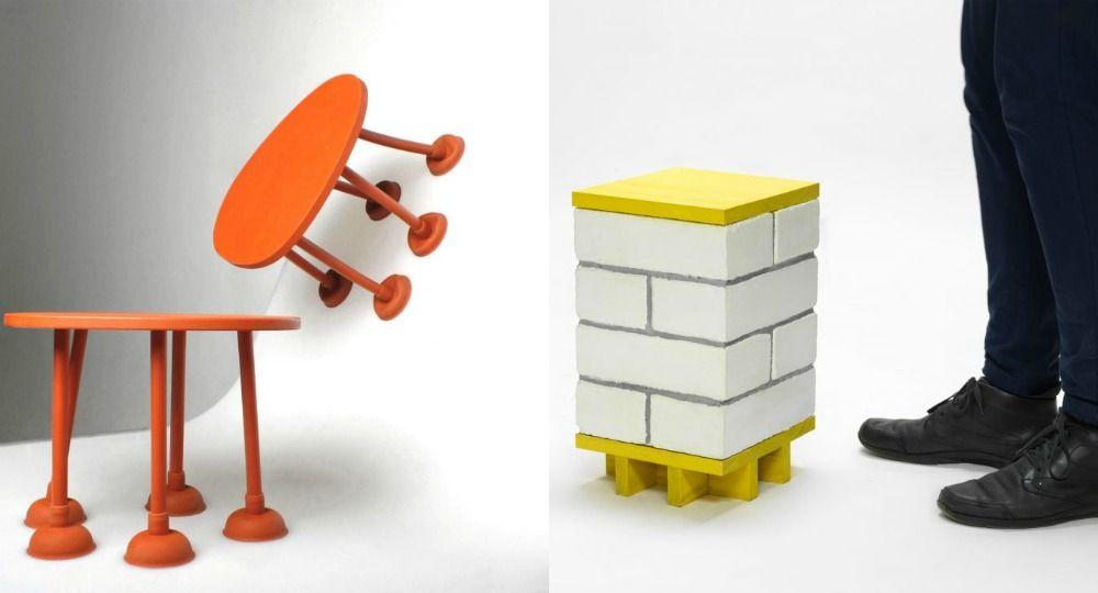 Nueva colección de Thomas Schnur. Mobiliario a partir de elementos cotidianos