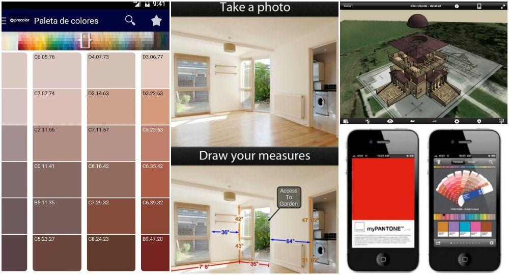 App diseo interiores que te ayudan a elegir el color de for Simulador decoracion interiores